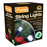 Kingfisher SLSL3 Solar String Light - Multi-Colour (Pack of 100)