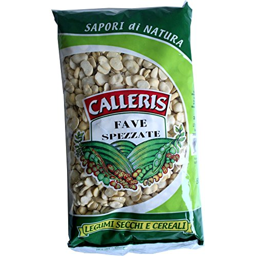 Calleris getrocknete dicke Bohnen (500g Beutel)