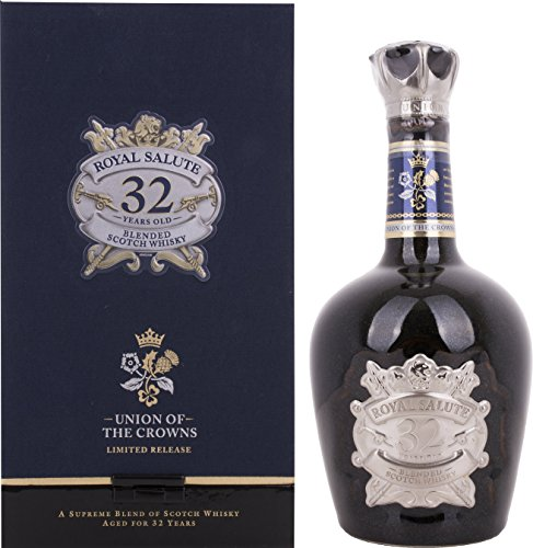 Chivas Brothers Royal Salute 32 Years Old UNION OF THE CROWNS Limited Release mit Geschenkverpackung Whisky (1 x 0.5 l)
