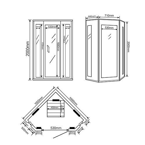 Home Deluxe – Infrarotkabine – Nova