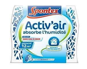 Spontex  Absorbeur d'Humidité  Pièces àVivre Activ'Air