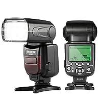 Convient pour :DSLR Canon, Ce flash est pour les versions les plus nouvelles de Canon Caractéristique :flash esclave sans fil, synchronisation du deuxième rideau, compensation d'exposition, FEB, vocales, sauvegarde automatique, PC Sync, économie d'én...