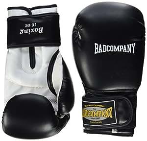 """Profi PU Boxhandschuhe Handschuhe """"White Tiger"""" schwarz/weiß, 10 Unzen (OZ)"""