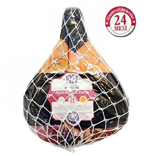 Prosciutto di Parma g.U. - 24 Monate - Cantina di Umberto e Rosa 1922 - Schinken. Ganz ohne Knochen gelagert vakuumverpackt. Gewicht ca.8,5 kg.