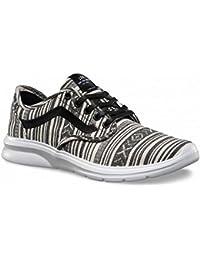 Zapatillas Vans – Iso 2 (Cancun) negro/blanco/multi talla: 34,5