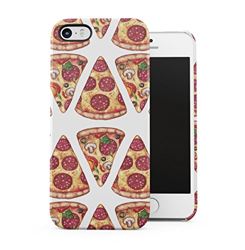 I Wish You Were A Macaron Quote Rainbow Macarons Pattern Apple iPhone 5 , iPhone 5S , iPhone SE Snap-On Hard Plastic Protective Shell Case Cover Custodia Pepperoni Slice