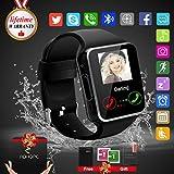 Bluetooth Smart Watch Phone Touchscreen Armbanduhr Handy-uhr Sport Smartwatch Uhr...