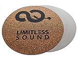 Plattenteller Auflage Matte Record Mat Plattenspieler 2 KNF-Grey