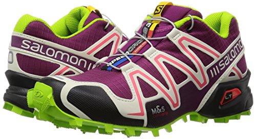 scarpe Salomon Speedcross 3 379302 Trail Scarpe da corsa chiaro Viola Viola Mystic grigio nonna verdi Mystic Purple Light Grey Granny Green