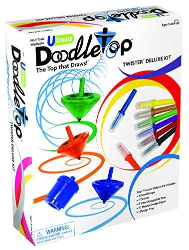 U-Create Doodletop Twister Deluxe Kit Deluxe Kit