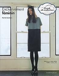 Exclusivement féminin : Patrons en taille réelle Tailles : S, M, L, XL