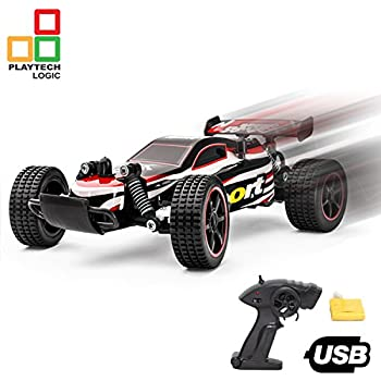 ptl fast rc remote control car racing buggy truggy girls boys toys 24ghz 20kph electric radio controlled indoor outdoor rc cars for kids 120 usb