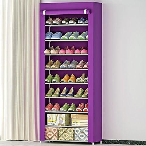 generic Quatre niveaux chaussures armoire chaussure facile sans poussière Assemblée