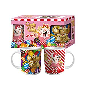 Lot de 2 Mug Candy Crush en céramique (1759)