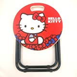 Shopkooky Multipurpose Foldable Designed Table for Kid's (Hello Kitty Red, T&G_Red_Kitty_STOOL)