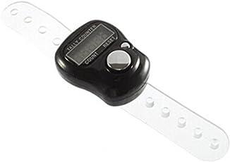 BGNing Finger Ring Digital Tally Counter Tasbeeh Tasbih Number Clicker Black