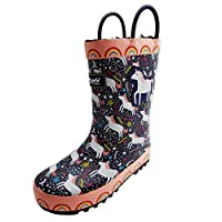 Cotswold Girls Unicorn Wellies - Puddle Boots