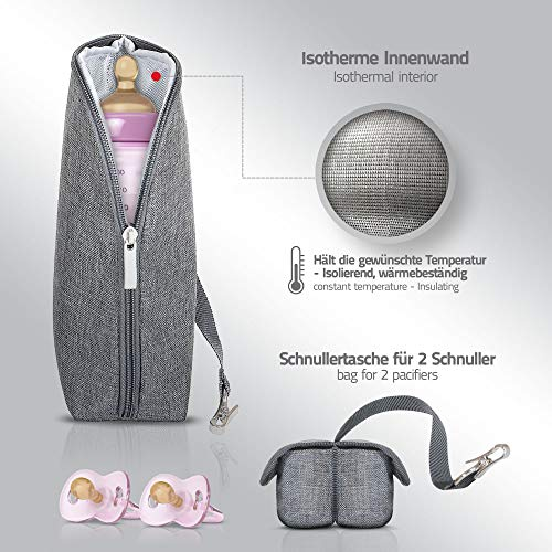 LCP Kids Wickeltasche RIO GREY - 5