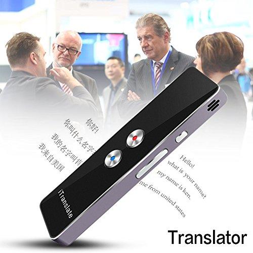 Shootingstar Elektronische Übersetzer von Fremdsprachen Intelligente, tragbare Übersetzer von Sprache Übersetzer mehrsprachig von zwei Arten der Übersetzung in Echtzeit für das Lernen