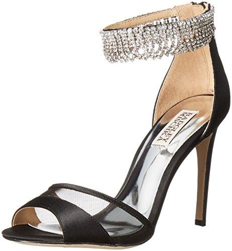 Badgley Mischka Gazelle Textile Sandale Blksat