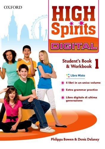 High spirits digital. Student's book-Workbook. Per la Scuola media. Con e-book. Con espansione online: 1