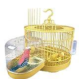 bozitian bozitian Halbrund Vogel Bad Hängender Papagei Badehaus Für Vögel Badewanne Korrosionsbeständiges Wasserdichtes Glattes Vogelkäfig Zubehör