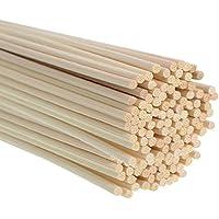Whaline 120 Stück Reed Diffusor Stöcke Rattan Reed Sticks Holz Öl Rattanstäbchen Raumduftspender Ersatz preisvergleich bei billige-tabletten.eu