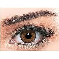 Bella Colored Contour Cosmetic Contact Lenses - Hazel
