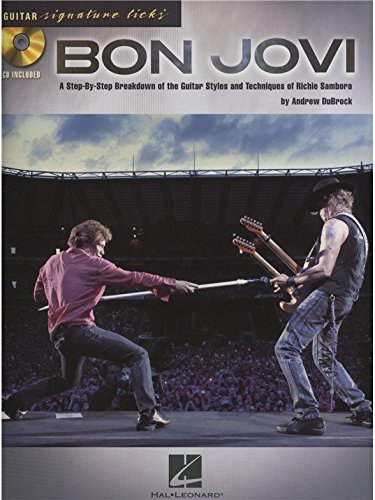 Signature Licks Guitar: Bon Jovi. Partitions, CD pour Tablature Guitare, Guitare