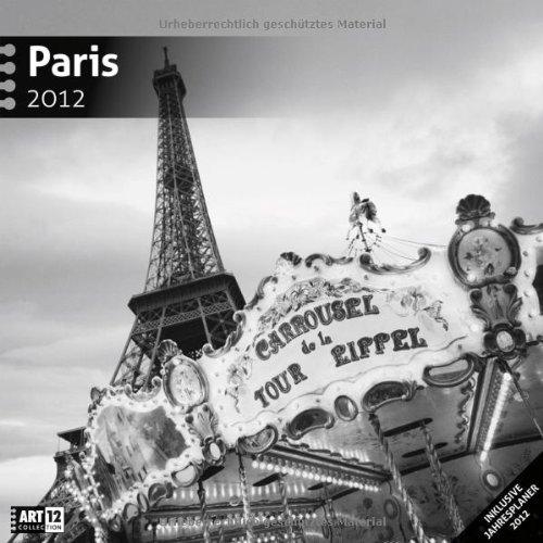 Paris 2012 Art12 Collection: Broschürenkalender