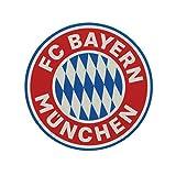 FC Bayern München Logo Tortenaufleger, Cake Toppers, Essbare Torten Auflage plus gratis Aufkleber forever München