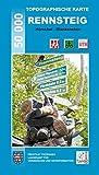 Topographische Karten Thüringen, Rennsteig, 5 Bl. (Topographische Karten Thüringen - Freizeit- und Wanderkarten 1:50000) -