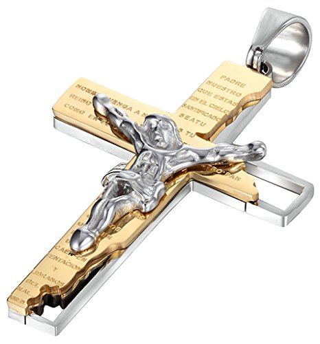 beydodo-stainless-steel-necklace-men-pendant-cross-jesus-crucifix-rood-bible-prayer-chain-spanish-en