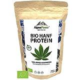 ALPENPOWER | BIO HANFPROTEIN | Ohne Zusatzstoffe | 100% reines Hanfprotein |...