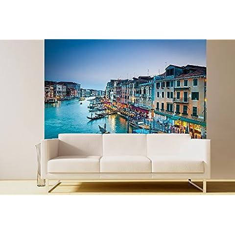 'GE de crea Papel pintado fotográfico Canal Grande en Venecia–Italia