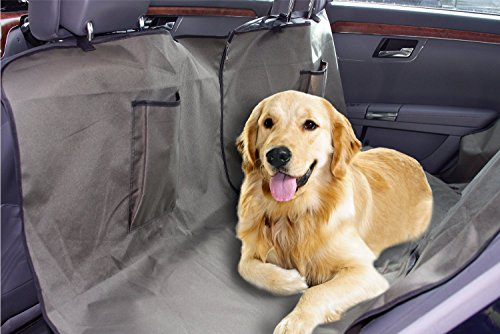 Artikelbild: Kalili 4M car pet seat cover, It's a Dog Back Seat Cover that converts to a Dog Car Hammock when needed!