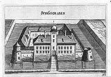 Schöngrabern b. Ebreichsdorf Kupferstich Vischer