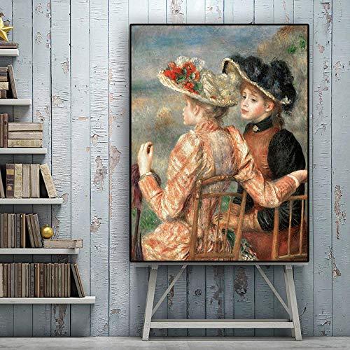 Leinwand Druck Plakat Wandbild Pierre Auguste Renoir Ölgemälde Auf Leinwand Reproduktion Poster Und Drucke Pop Art Wandbild Für Wohnzimmer