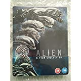 Alien 1-6 Steelbook Limited Edition / Includes Alien Covenant / Zavvi Release / Import / Region Free