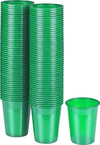 kigima-gobelets-jetables-en-plastique-vert-100-pieces-018-cl