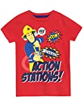 Fireman Sam Camiseta para niño - Sam el Bombero - 3-4 Años