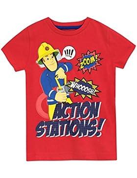 Fireman Sam Camiseta para Niño - Sam el Bombero