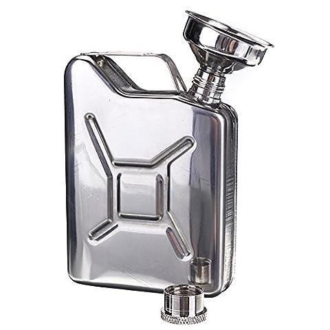 Bluelover Portable 50 Oz En Acier Inoxydable Mini Hip Flask Bouteille D'Alcool Whisky Pocket Avec Entonnoir