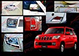 Premium-Quality-Chrome-Plated-Accessories-For-Mahindra-TUV300-Set-Of-8-Pcs.