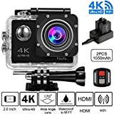 Action Cam 4K, WIFI Sport Action Camera Full HD 16MP/12MP, Fotocamera