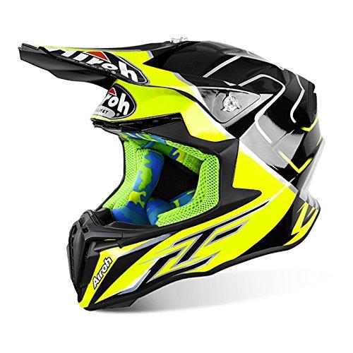 Airoh Twist Cairoli Mantova giallo-Casco da motocross Motox Full Face moto