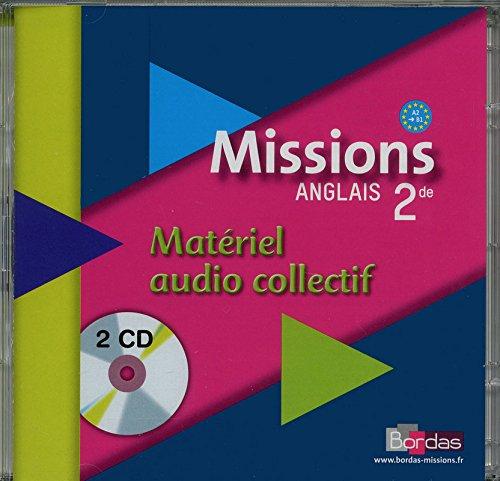 Missions 2de • CD audio classe par Collectif (Broché)