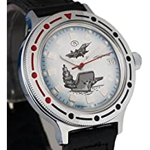 Vostok # 921261KOMANDIRSKIE mecánico automático ruso muñeca reloj 2416b