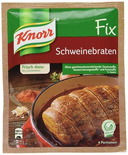 Knorr Fix Schweinebraten 4 Portionen (23 x 41 g) -
