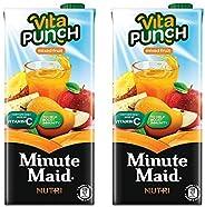 Minute Maid Vita Punch Mixed Fruit, 2 X 1000 ml